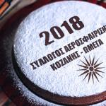 ΚΟΠΗ ΠΙΤΑΣ 2018 - ΣΥΛΛΟΓΟΣ ΑΕΡΟΣΦΑΙΡΙΣΗΣ ΚΟΖΑΝΗΣ ΩΜΕΓΑ