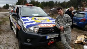 Scenario Vehicle 1 Omega airsoft team
